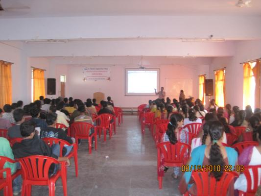 Sessions conducted by Swecha at SMEC