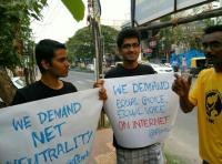 Protest on Net Neutrality
