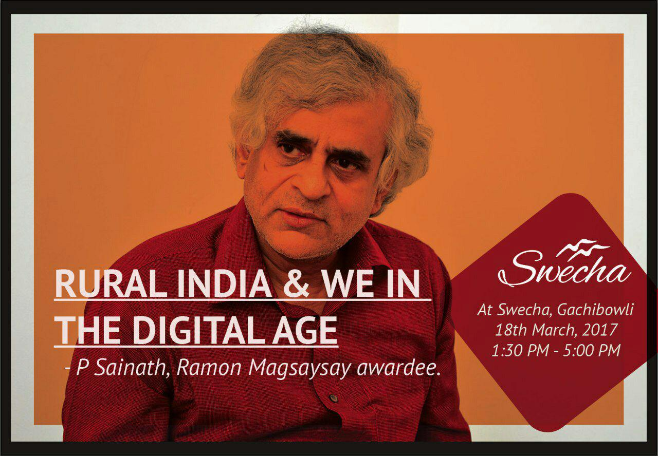 Rural india & We in the digital age.