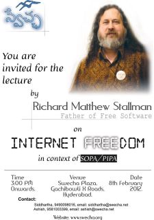 Richard Stallman Talk